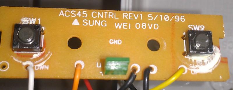 Lansing ACS48 Speaker PCB Top