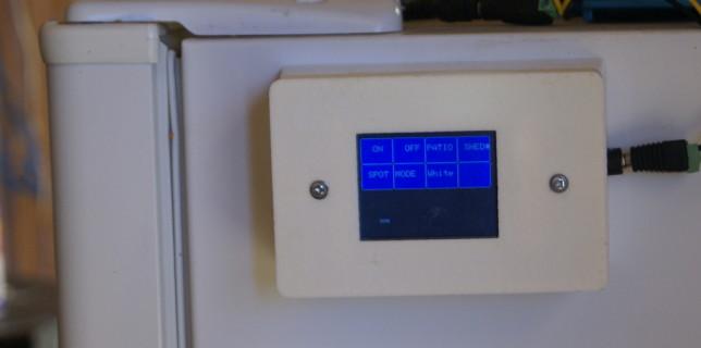 Wireless Touchscreen LED Strip Controller