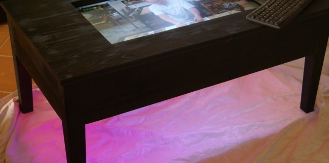 LCD TV Table – Inprogress