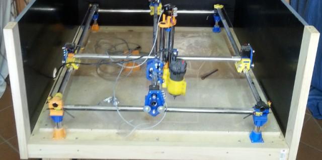 Mostly Printed CNC (MP-CNC)