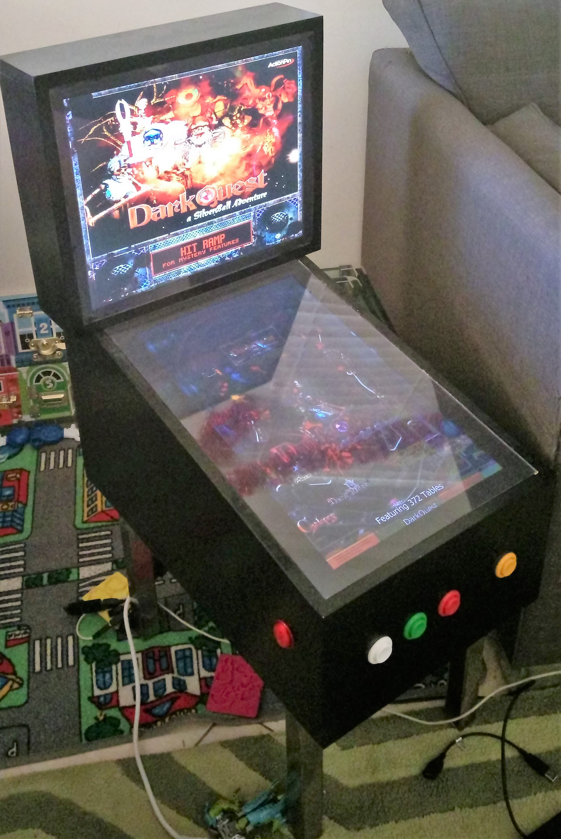 Mini Virtual Pinball Cabinet